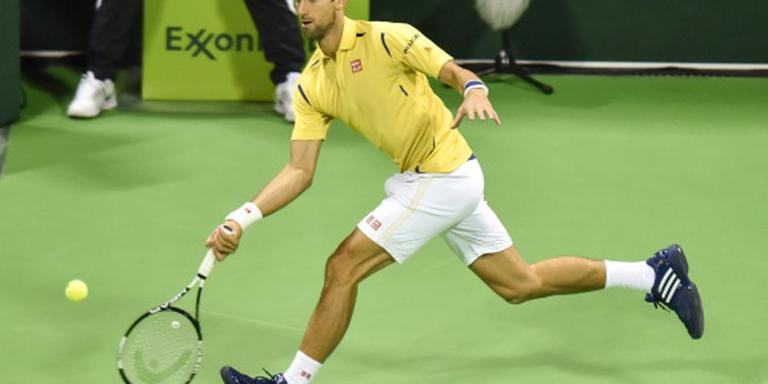 Djokovic begint jaar met toernooiwinst