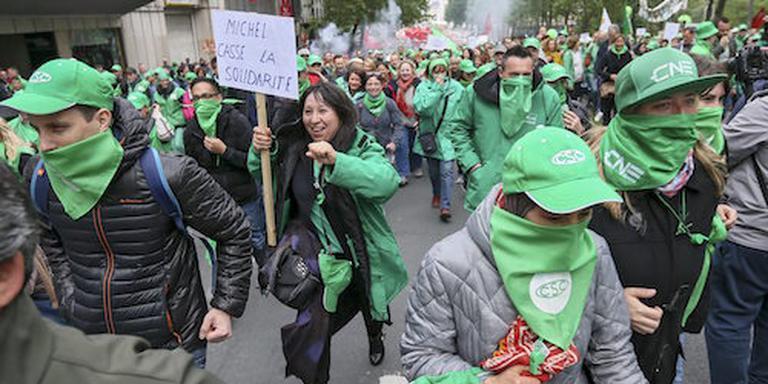 Relletjes na nationale betoging Brussel