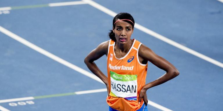 Hassan met toptijd derde in Parijs