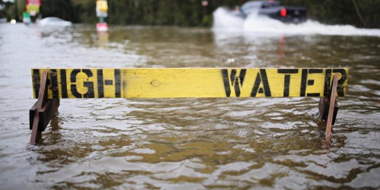 Doden door overstromingen Louisiana