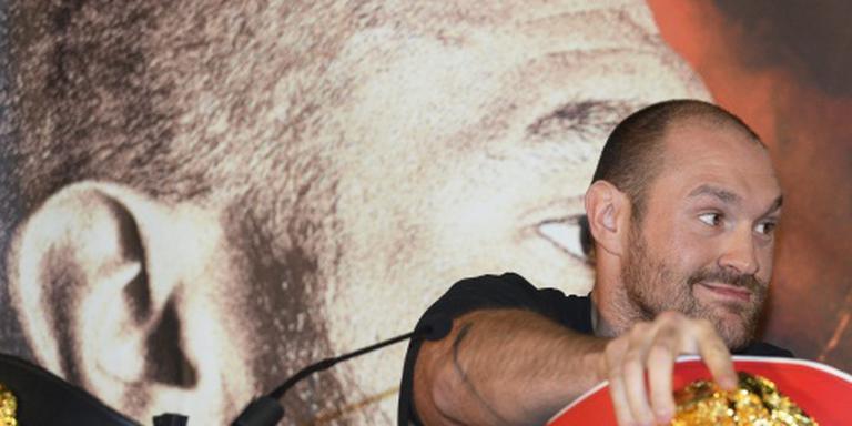 Bokser Fury geeft Engelse fans een rondje