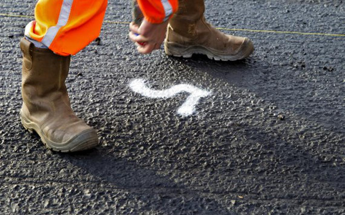 Werk aan de weg tussen borger en gieten drenthe - Kaart evenwicht tussen werk en ...
