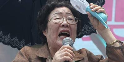 Japan en Zuid-Korea botsen over troostmeisjes