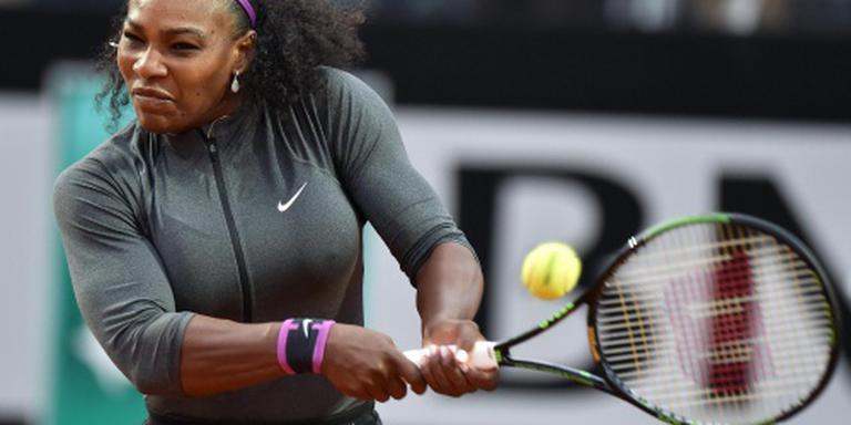Serena Williams begint gravelseizoen met zege