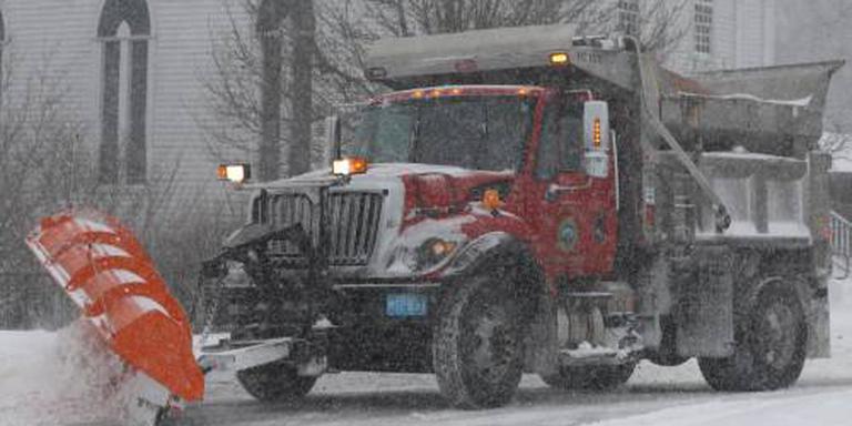 Noorden VS zet zich schrap voor sneeuwstorm