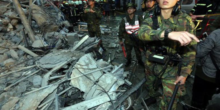 Aardbeving Taiwan eist levens