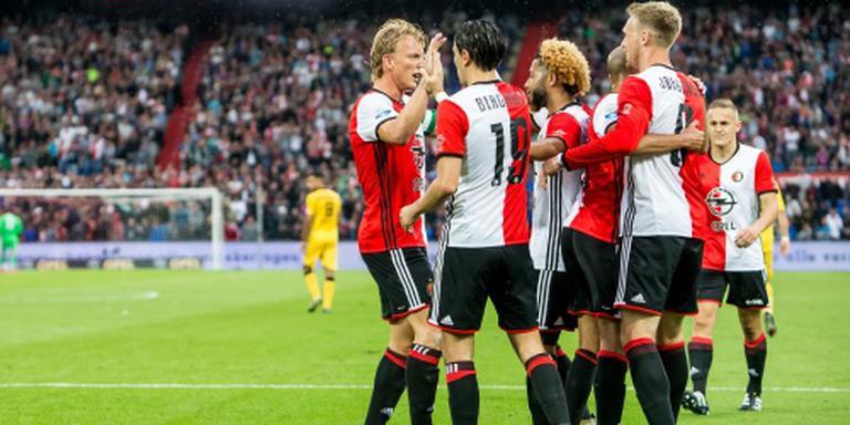 Feyenoord blijft foutloos