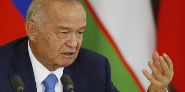 'President Oezbekistan overleden'