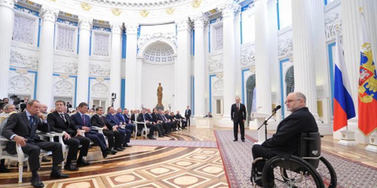 Schorsing Russen biedt zitvolleybalsters hoop