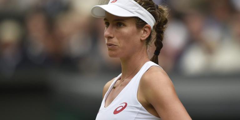 Konta verrast Venus Williams in Stanford