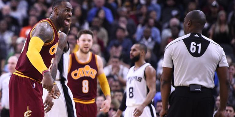 San Antonio verslaat ook Cavaliers