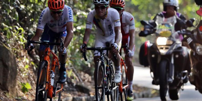 Nibali breekt sleutelbeen in wegrace Rio