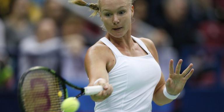 Tennissters tegen Frankrijk in Fed Cup