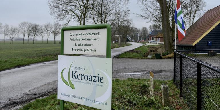 Zorgboerderij Keroazie is in opspraak gekomen na een moord waarbij clienten van de zorgboerderij betrokken zijn. Foto Jan Zeeman