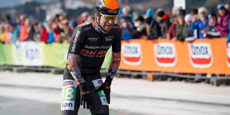 Ariëns wint schaatsmarathon in Alkmaar