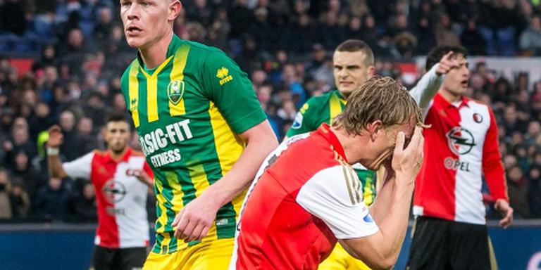Vijfde nederlaag op rij voor Feyenoord