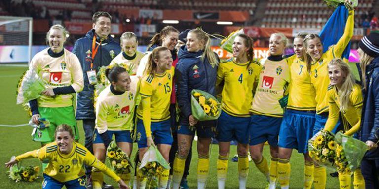 Zweden completeert voetbaltoernooi Spelen