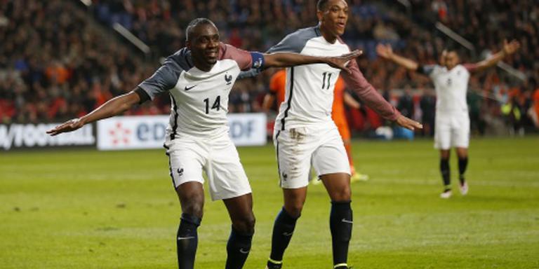 Oranje verliest van Frankrijk