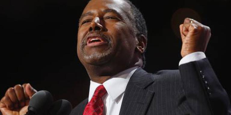 Carson kandidaat ministerspost regering Trump