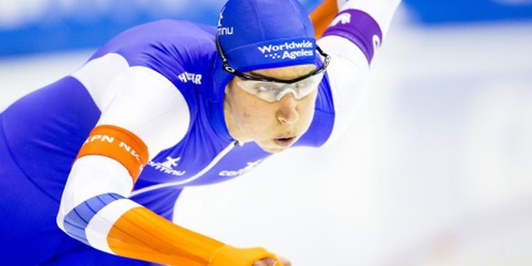 Titelhoudster Boer wint eerste 500 meter