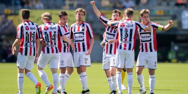 Willem II ondanks zege naar de play-offs