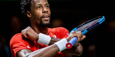 Tennisser Monfils bereikt finale in Rotterdam