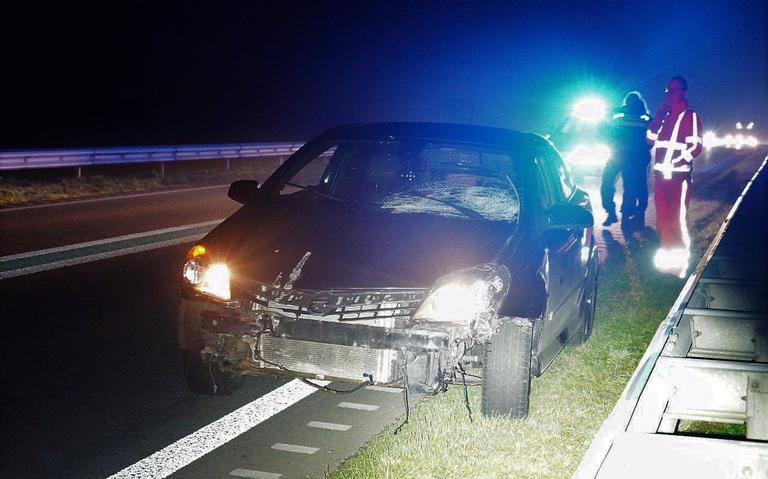 Bestuurder gewond bij ongeluk op N34 bij Emmen.