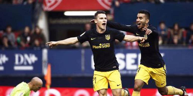 Atlético wint na twee nederlagen weer uitduel