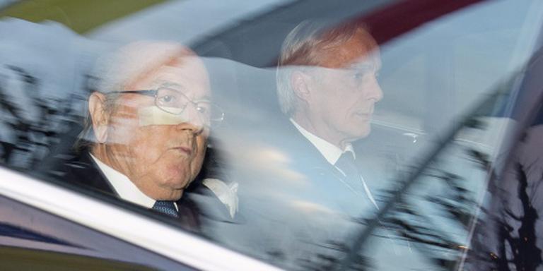 Blatter gelooft in vrijspraak