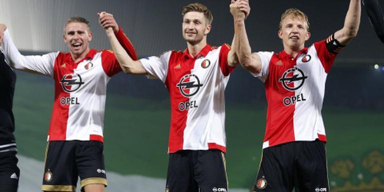 Feyenoord met Van der Heijden tegen NEC