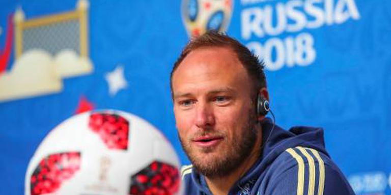 WK gaat voor uitgerekende vrouw bij Granqvist
