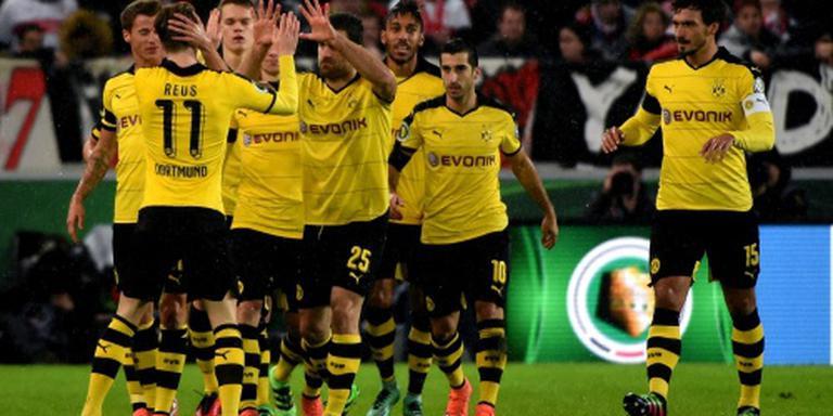 Dortmund naar halve finale