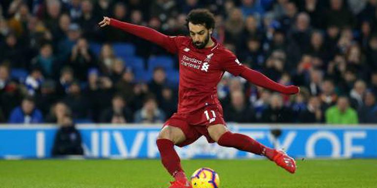 Salah verstevigt koppositie van Liverpool
