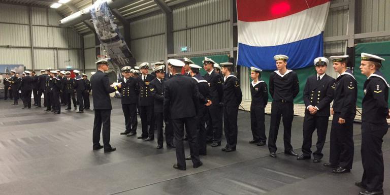 MS Groningen terug van piratenjacht
