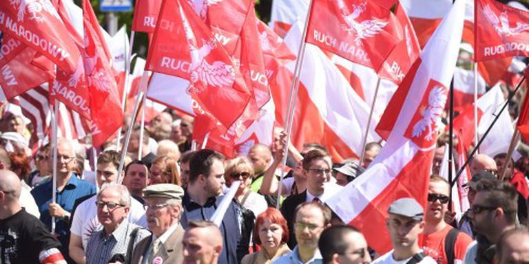Massaal protest tegen regering in Polen