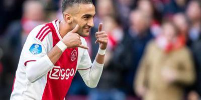 Ziyech eerder terug naar Ajax