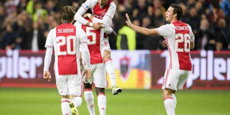 Ajax boekt nipte zege op Excelsior