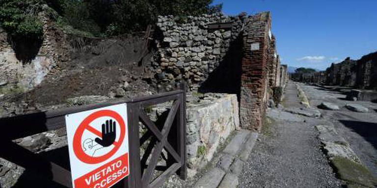Nederlanders aangehouden in Pompeï