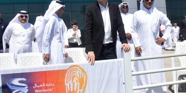Arbeider overlijdt bij bouw WK-stadion Qatar