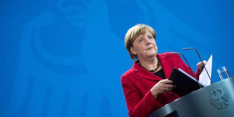 Alle ogen op Merkel bij vergadering partijtop