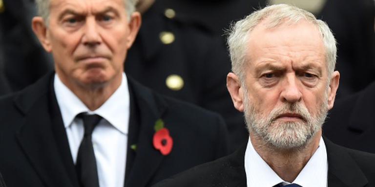 Corbyn haalt eindelijk zijn gram tegen Blair