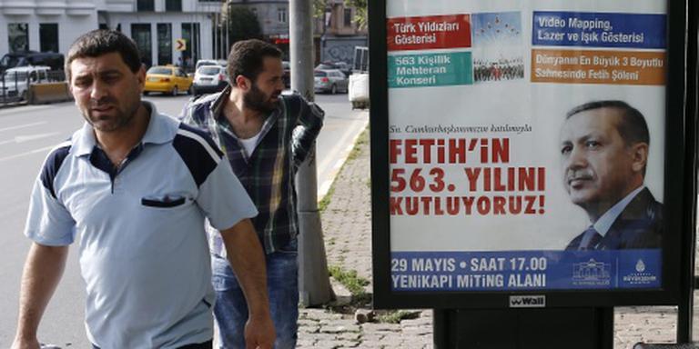 Erdogan: ga de straat op