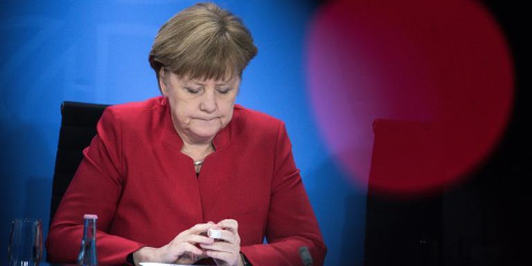 Merkel naar vluchtelingenkamp in Turkije