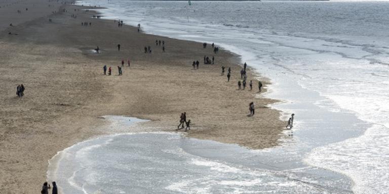 Open landschap kuststrook verdwijnt snel