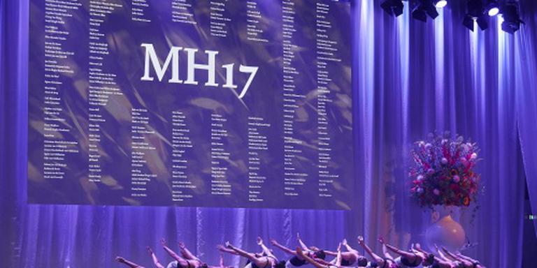 Herdenking slachtoffers MH17 bij Schiphol