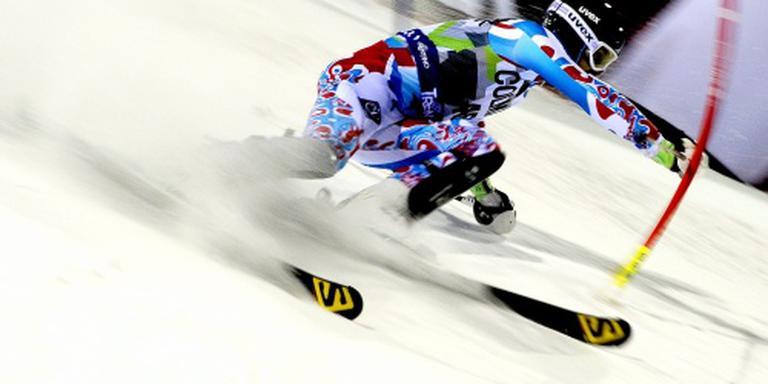 Kleinzoon Jan Janssen op ski's voor Nederland
