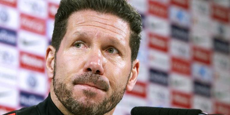 Simeone verwacht veldslag tegen Bayern