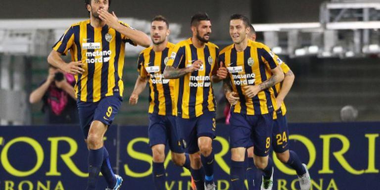 Gedegradeerd Verona verslaat kampioen Juve