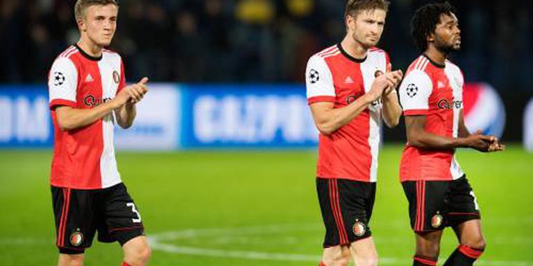 Feyenoord met Vente tegen Trencin