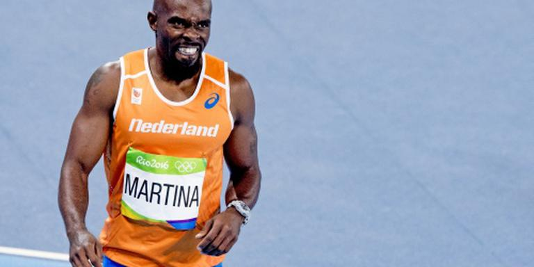 Martina loopt record op 200 meter